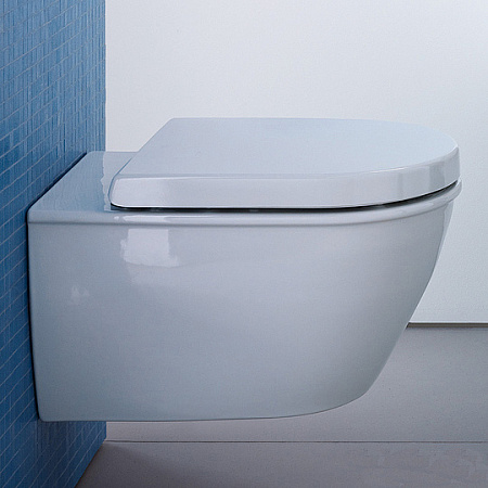 Унитаз подвесной Rimless Duravit Darling new 2557090000 - duravit shop